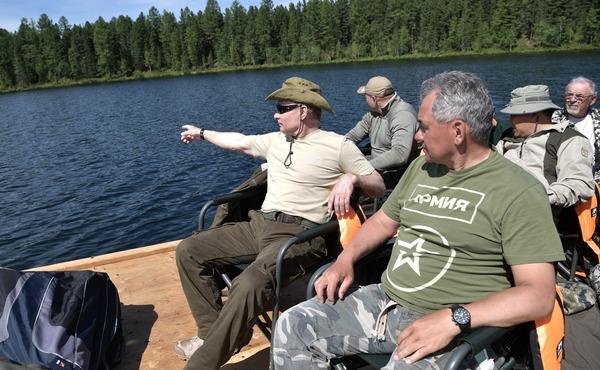 Потерялся Путин Путин, фольклор, Фантазия, рыбалка, охота, длиннопост