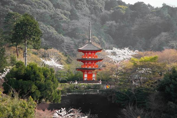 Пагода в Киёмидзу-дэра, Киото