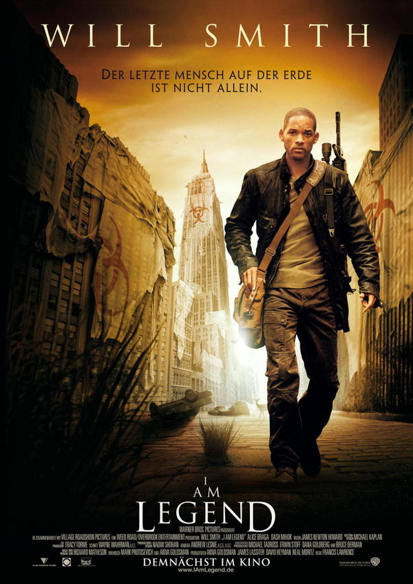 Я - ЛЕГЕНДА. Оказывается не так уж и легендарна... Фильмы, Хорошая книга, необычное, Интересное, длиннопост