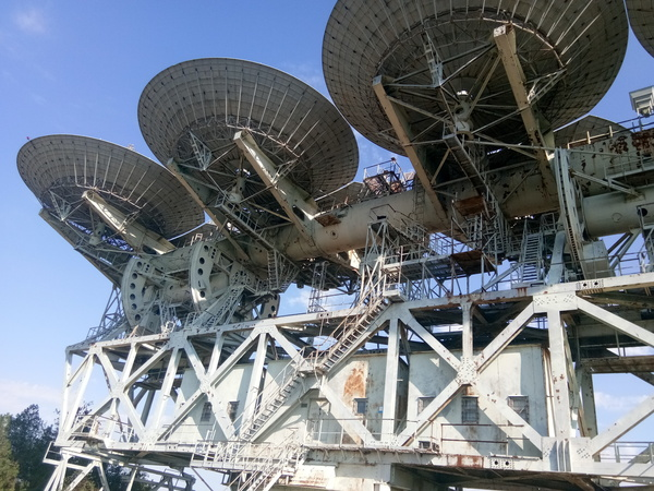 Приемная антенна системы Плутон наука, космос, Антенна, антенная система, длиннопост