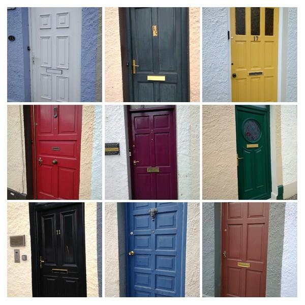 Двери Ирландии Ирландия, дверь
