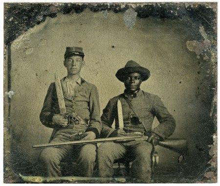 Борьба за освобождение чернокожих (войска конфедератов) КША, история, фотография, США, длиннопост