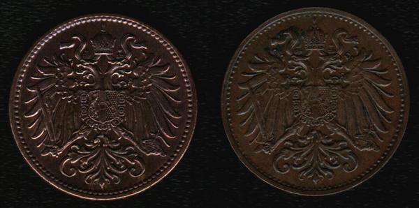 Монетные браки Австрии и Венгрии монета, брак, Австро-Венгрия, привет читающим тэги, длиннопост