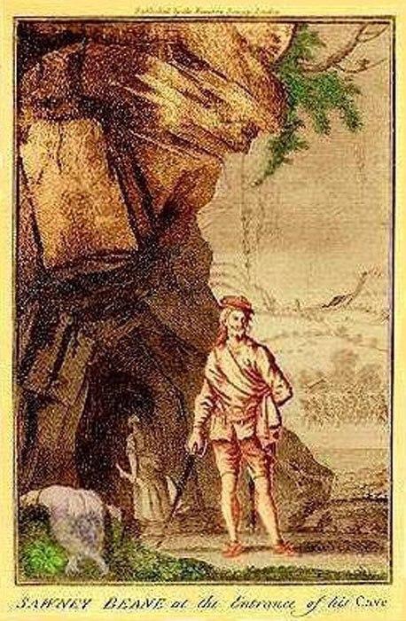 Соуни Бин. Шотландия, фольклор, клан, Бины, каннибализм, длиннопост