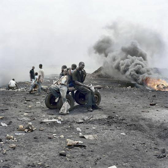 Ганская свалка Гана, свалка, переработка мусора, длиннопост