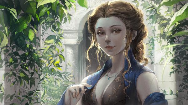 Margaery Tyrell DeviantArt, Арт, рисунок, девушки, сериалы, Игра престолов