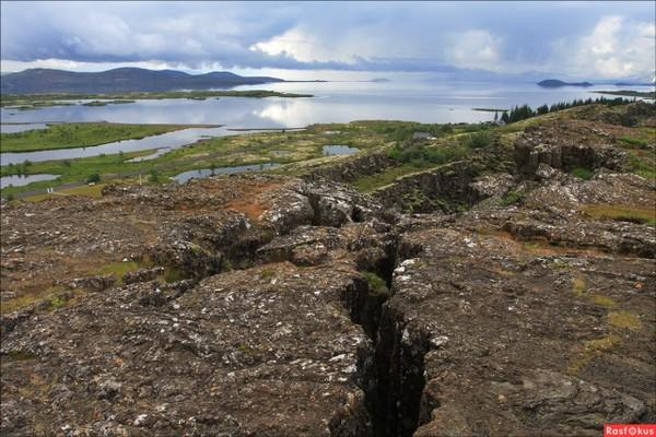 Разлом Сильфра: место, где встречаются две литосферные плиты Разлом Сильфра, Америка, Евразия, Исландия, граница, видео, длиннопост