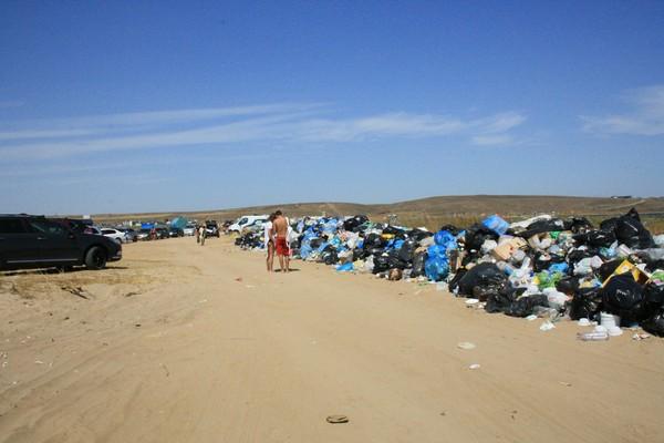 Если есть на свете рай.... Краснодарский, мусор, море