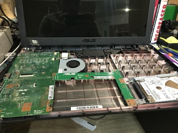 Немного о жадности Asus ноутбук, ASUS, ремонт ноутбуков, работа, жадность, длиннопост