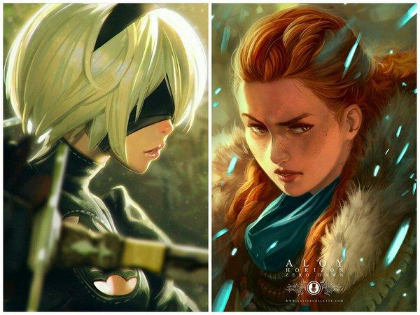 Nier Automata и феминистки Nier Automata, steam, феминизм, Horizon, Playstation 4, длиннопост