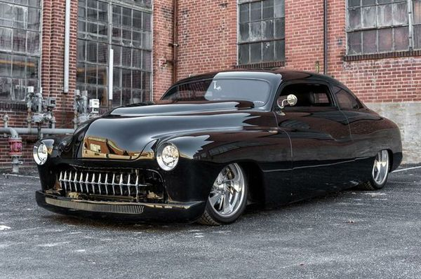 1951 Mercury Lead Sled Custom Mercury, custom, авто, машина, длиннопост