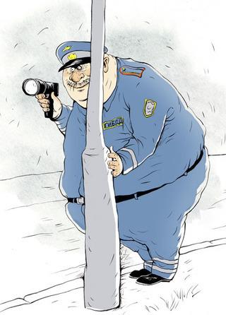 За перший день використання радарів патрульні затримали на перевищенні швидкості 231 водія - Цензор.НЕТ 9614