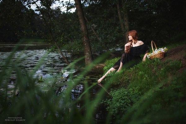 Forest Story лес, кровь, фотосессия, длиннопост