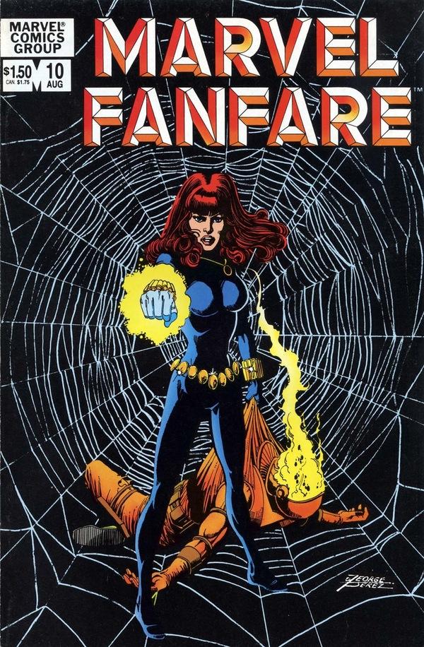 Знакомство с комиксами: Как Чёрной Вдове домыться не дали Супергерои, Marvel, Черная вдова, Маугли, Комиксы-Канон, Длиннопост