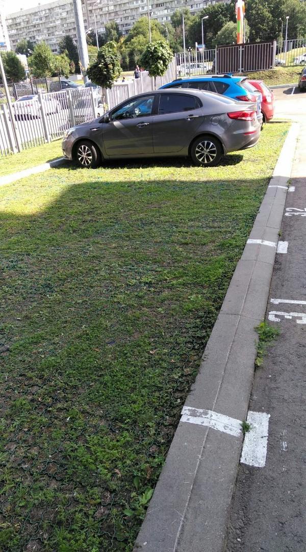 Необычное решение парковки парковка, Интересное, длиннопост