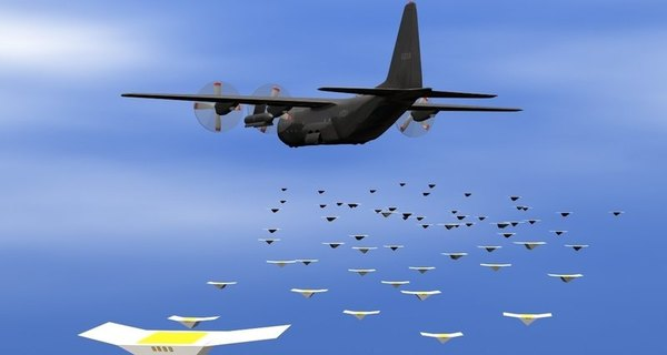 Американский спецназ получит «Громодроны». Дрон, США, армия, покемоны, рой, видео