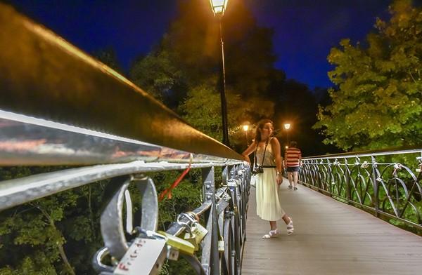 Киевский Мост влюбленных мост влюбленных, Киев, парковый мост, длиннопост