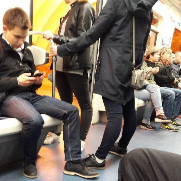 Березуцкий в метро