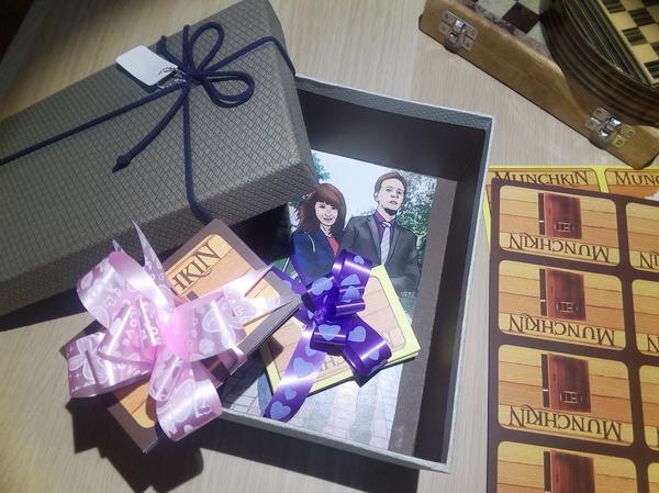 Идея для подарка друзьям на свадьбу моё, текст, длиннопост, Настольные игры, свадьба, идея, Манчкин, дорохов