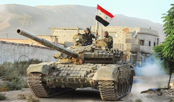 Армия Сирии начала наступление на базу США армия, Сирия, война в сирии, армия США, Политика