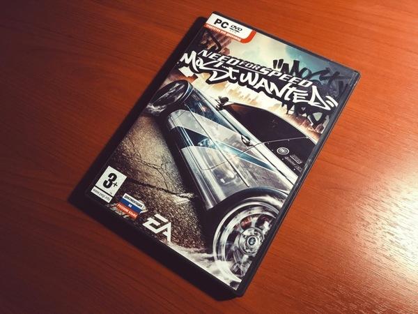 Коробка, которую рука не поднимается выкинуть Игры, Компьютерные игры, Need For Speed, Need for Speed: Most Wanted, 2005, не мое, длиннопост
