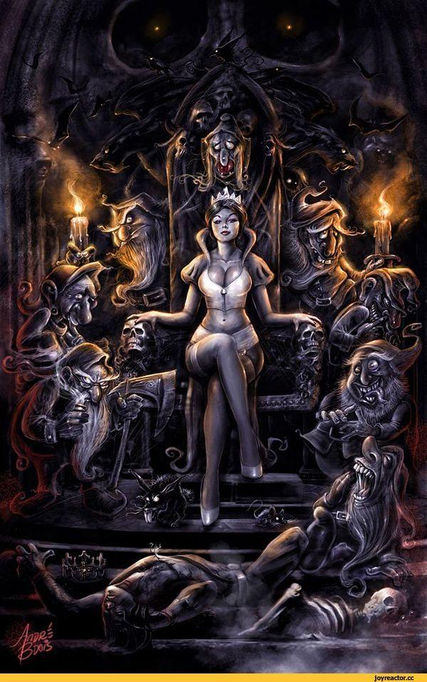 Белоснежка и семь смертных грехов (часть 3) Дисней, белоснежка и семь гномов, постапокалипсис, длиннопост, тайны диснея