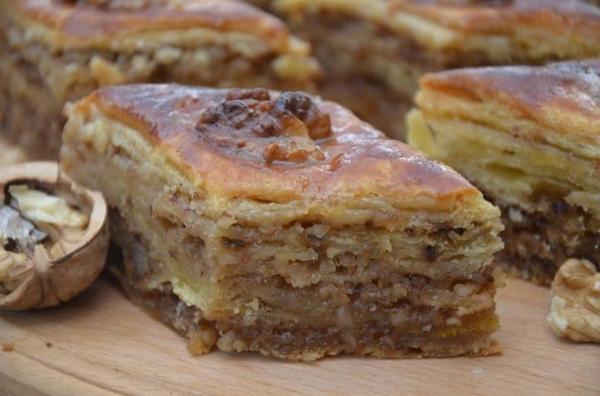 Пахлава - восточная сладость еда, рецепт, сладости, длиннопост