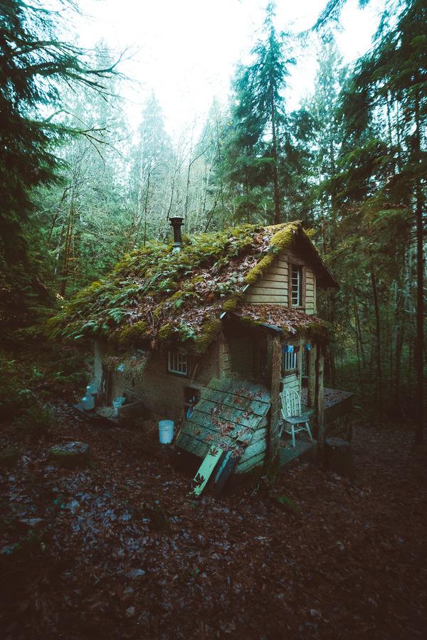 Хижины для любителей уединиться фотография, Природа, дом, длиннопост, Одиночество