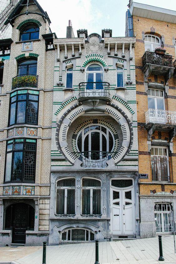 Самые узкие дома в стиле модерн архитектура, путешествия, дизайн, длиннопост
