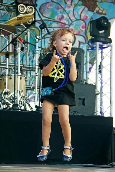 Рок звезда :) рок, рок-концерт, длиннопост, Дети