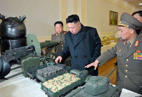Лидер КНДР приказал военным держать палец на спусковом крючке Ким Чен Ын, Политика, США