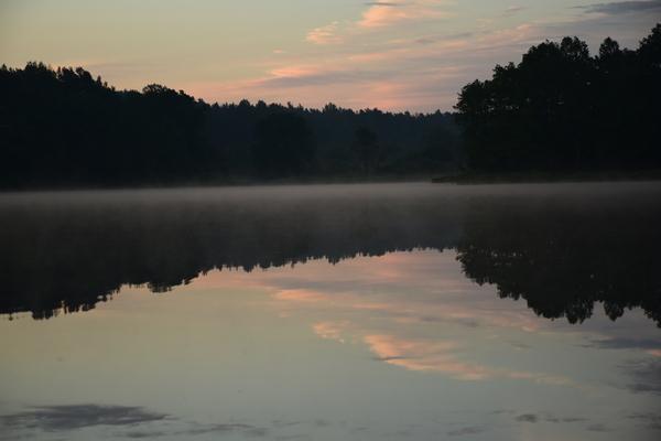 Утро фотография, утро, рассвет, Озеро