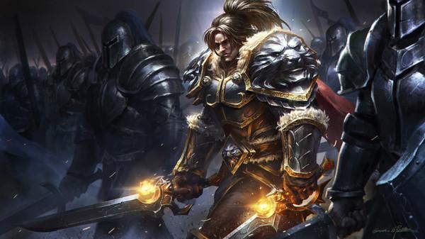 Arts Warcraft by Qichao Wang арт, warcraft, wow, Валира, сильвана, волджин, Varian Wrynn, Illidan Stormrage, длиннопост