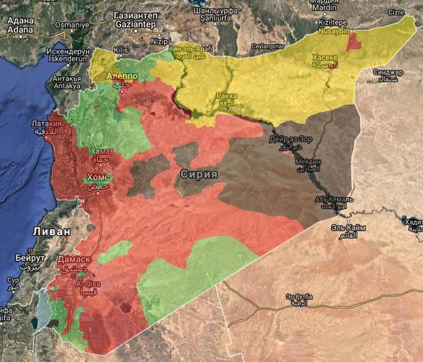 Россия помогла армии Асада окружить боевиков ИГ в провинции Хама. Война, Сирия, Россия, ИГИЛ, Политика