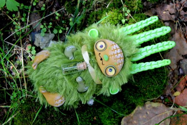 Мои инопланетные питомцы. Выпуск № 6. кукла, рукоделие без процесса, ручная работа, длиннопост, моё, необычное, лето