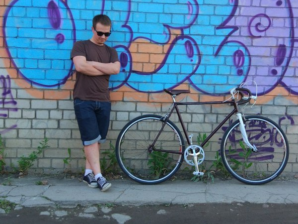 Новый ХВЗ турист хвз, туристы, велосипед, парк, robertkoff, покраска, синглспид, длиннопост