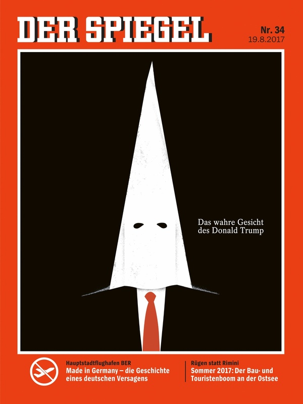 Ни слова о методичке Политика, Шпигель, Трамп