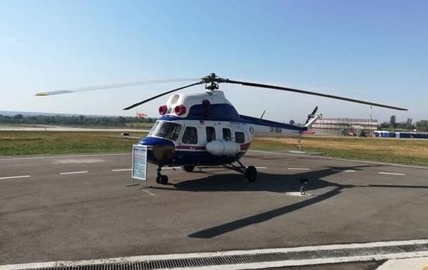 Новости из дурдома: в Запорожье показали первый украинский вертолет Вертолёт, Украина, перемога, политика, МИ-2