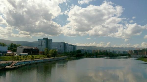 Абаканская протока Красноярск, Протока