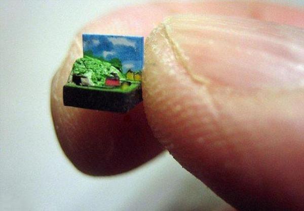 Самые маленькие вещи в мире вещи, факты, маленькие, рекорд, длиннопост