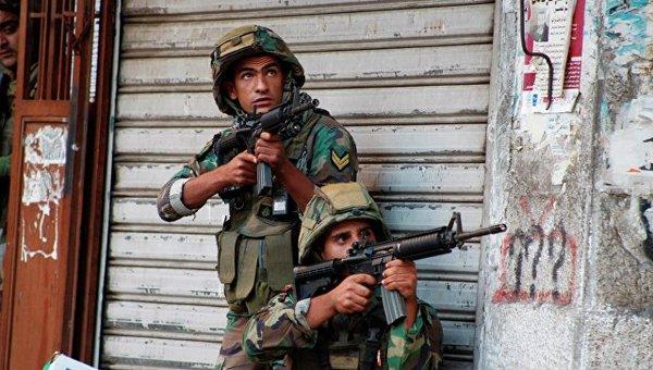 Ливан объявил о начале наступления против ИГ на границе с Сирией Ливан, Сирия, Политика, текст, Война, РИА Новости, ИГИЛ