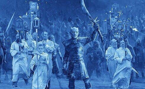 Настоящая армия короля ночи Игра престолов, Белые ходоки, Спойлер