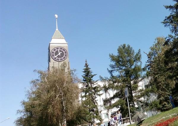 Красноярск Красноярск, солнечный день