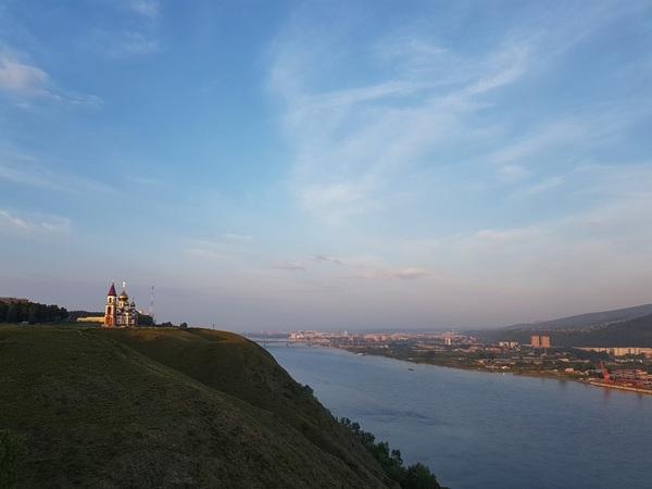 Красноярск. Мобилография красноярск, мобилография, велофото, galaxyS7, landscapes, krasnoyarsk, streets, длиннопост