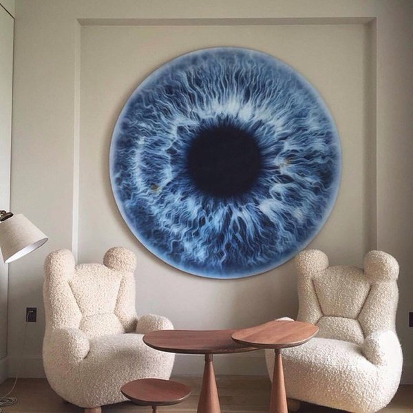 Декор помещения декор, радужка, глаза