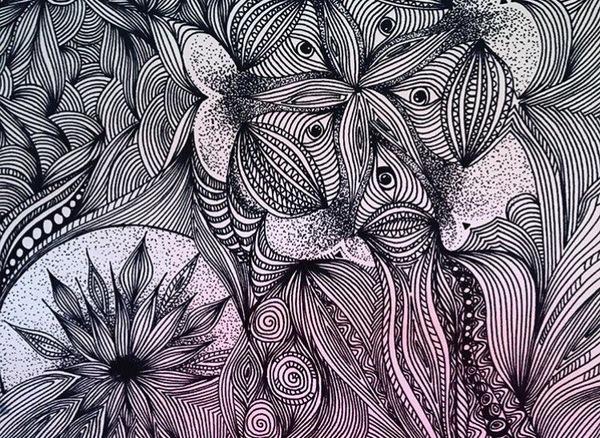 Терпение и труд рисунок, ПРЯМЫЕ РУКИ, рисование, маркер, рисунок маркером, длиннопост