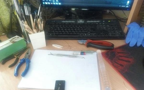 Делаем фигурку Рика-огурчика) рукоделие с процессом, рукоделие, фигурка, полимерная глина, рик и морти, Pickle Rick, Рик огурчик, длиннопост