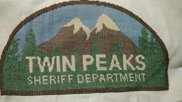 Вышивка по Twin Peaks Вышивка крестом, Твин Пикс