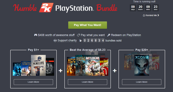 Годное предложение для PS от Humble Humble Bundle, PSN, Playstation, Не steam, Ключи