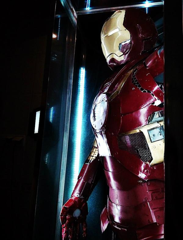 Костюм Железного Человека из стали и титана! Iron Man, Тони Старк, железный человек, костюм железного человека, Red Technology Industries, Макс Красный, длиннопост